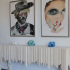 Four P.A. Sandler Collage Pieces Featured At Cindy Ray Interiors, Inc.